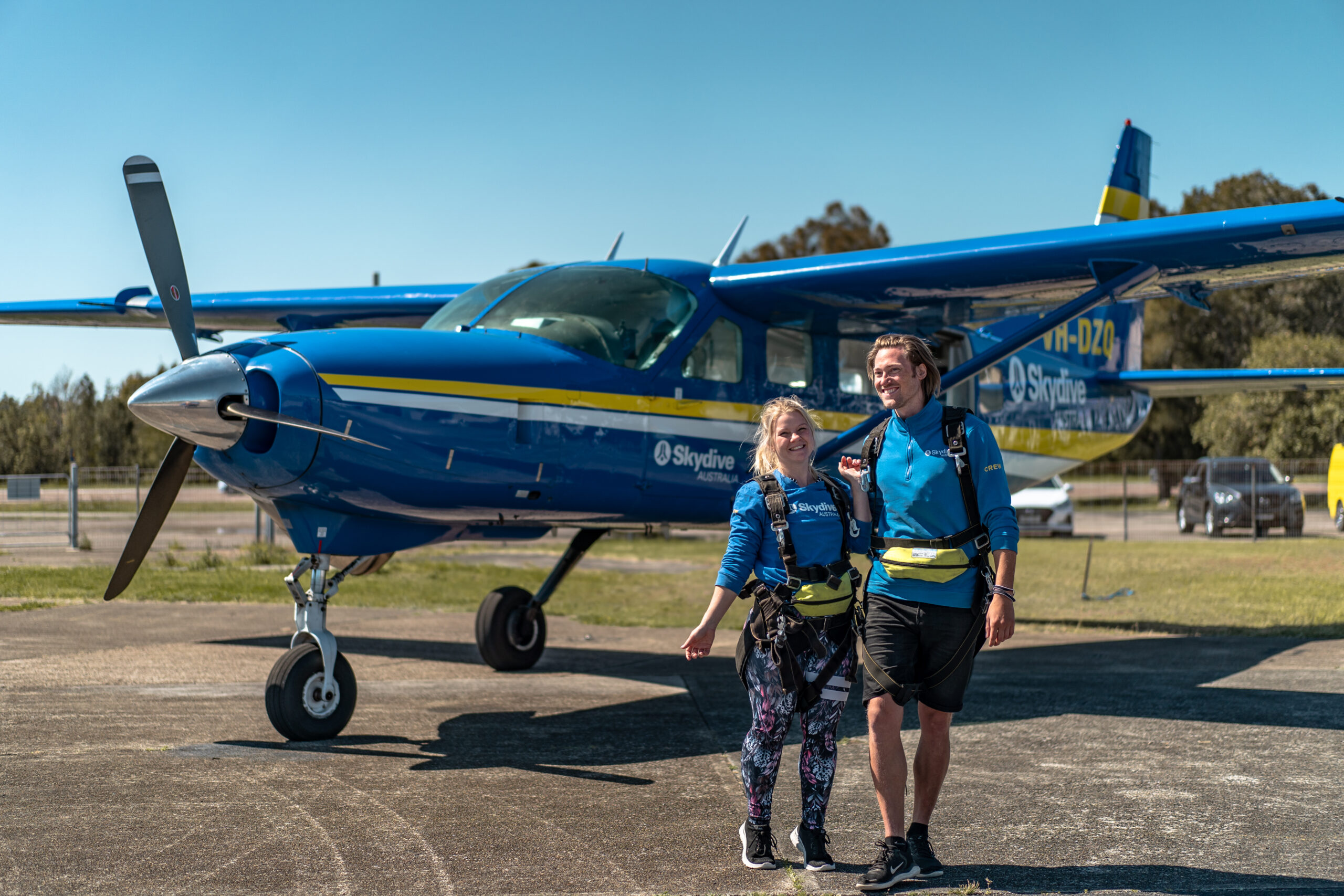 Skydive Australia x Vagabonds of Sweden