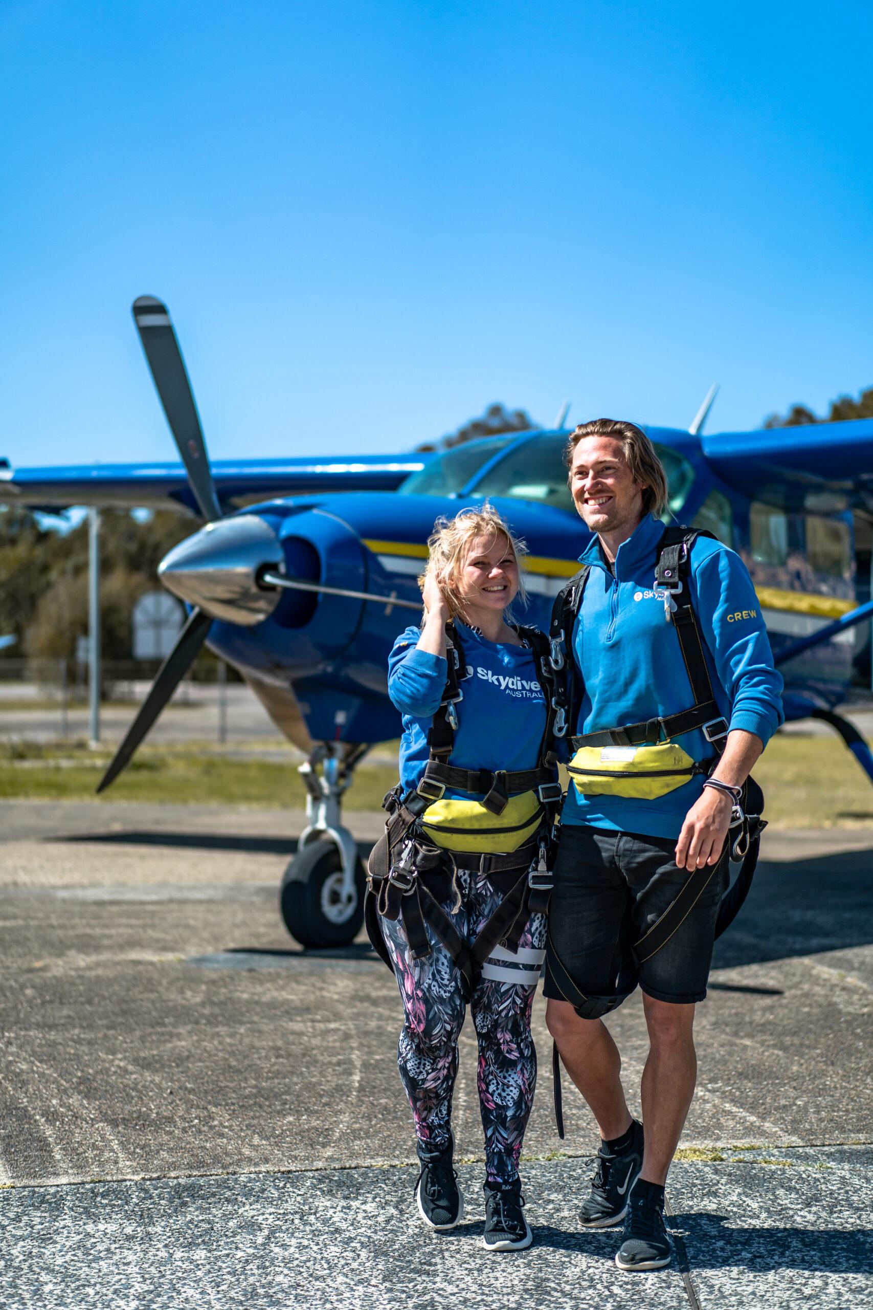Skydive Australia x Vagabonds of Sweden