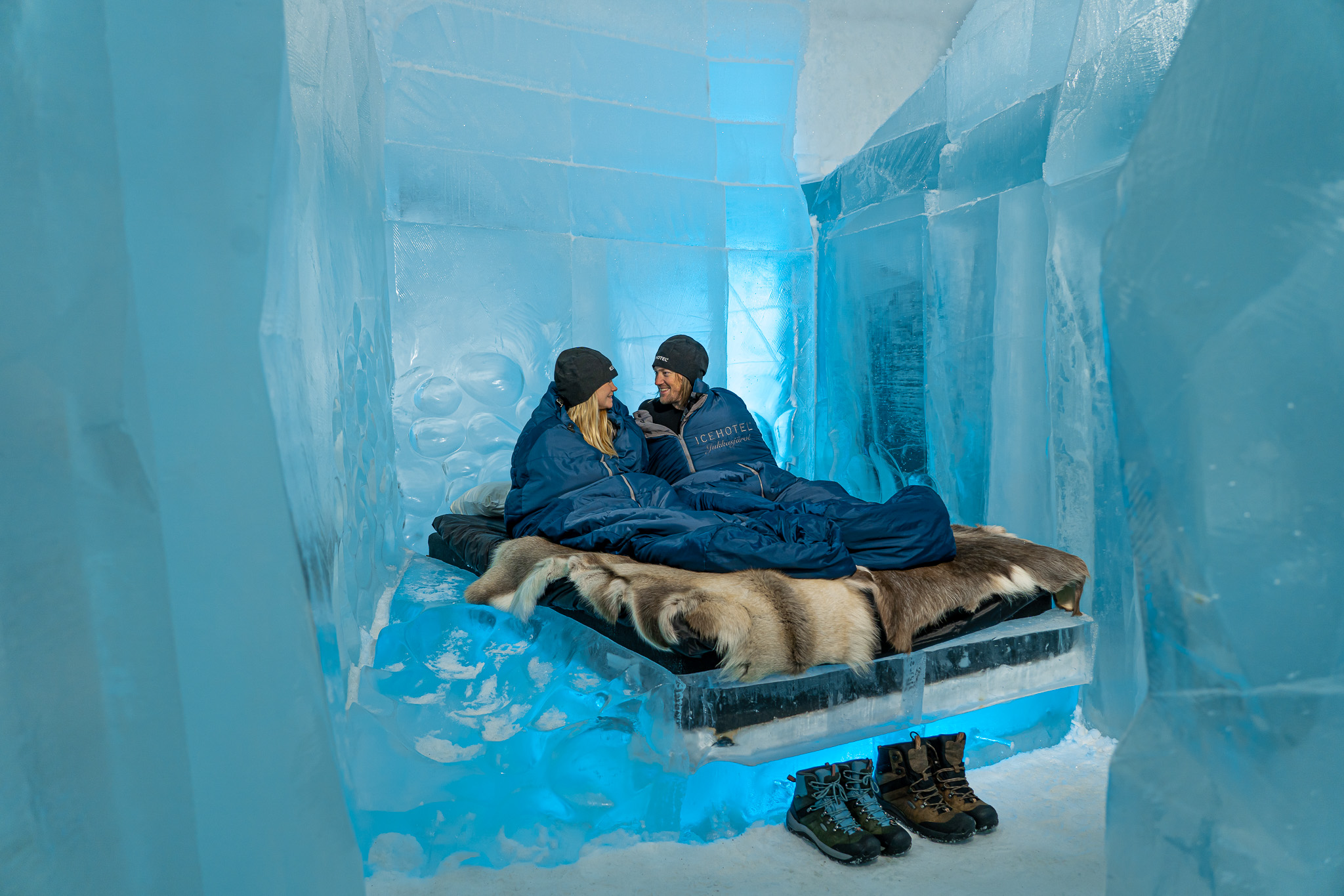Icehotel x Vagabonds of Sweden